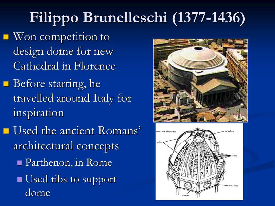 Filippo Brunelleschi (1377-1436)