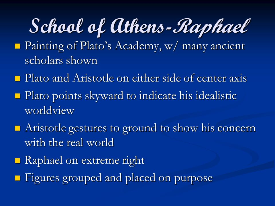 School of Athens-Raphael