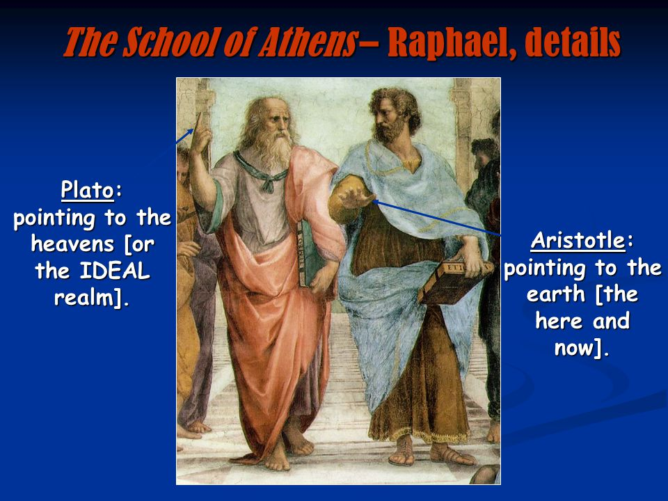 The School of Athens – Raphael, details