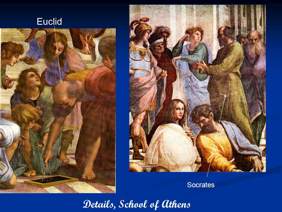 \ Euclid Socrates Details, School of Athens