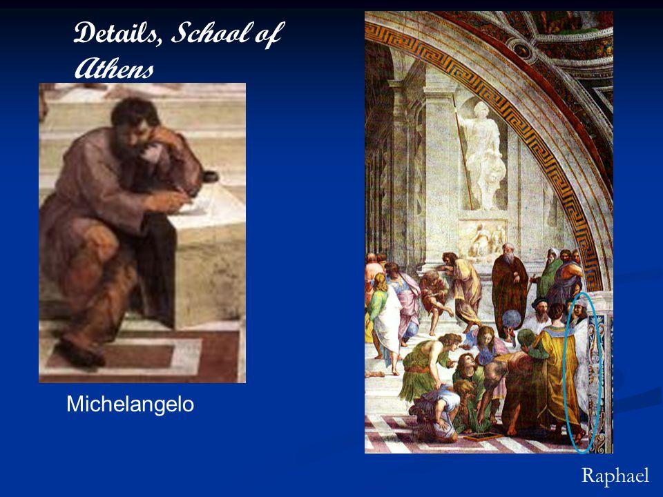 Details, School of Athens