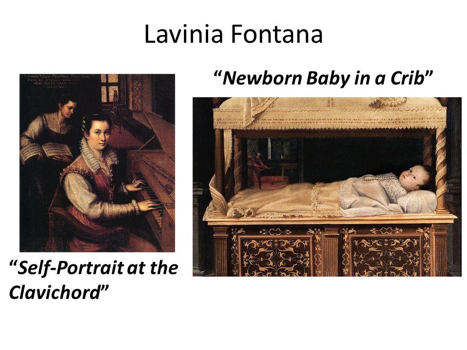 Lavinia Fontana Newborn Baby in a Crib