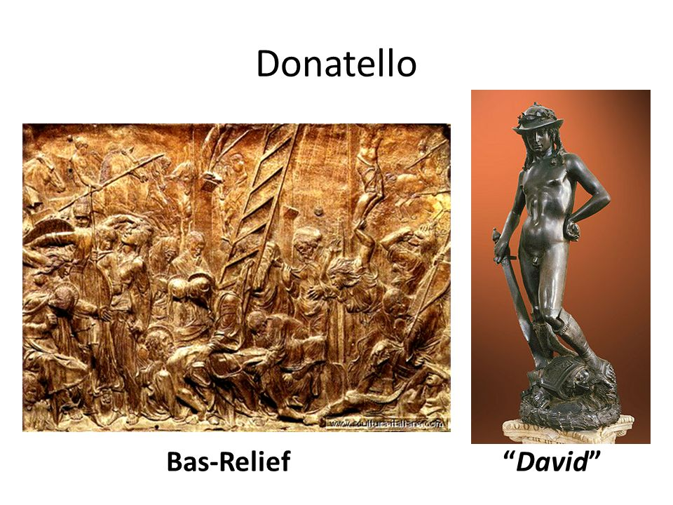 Donatello Bas-Relief David