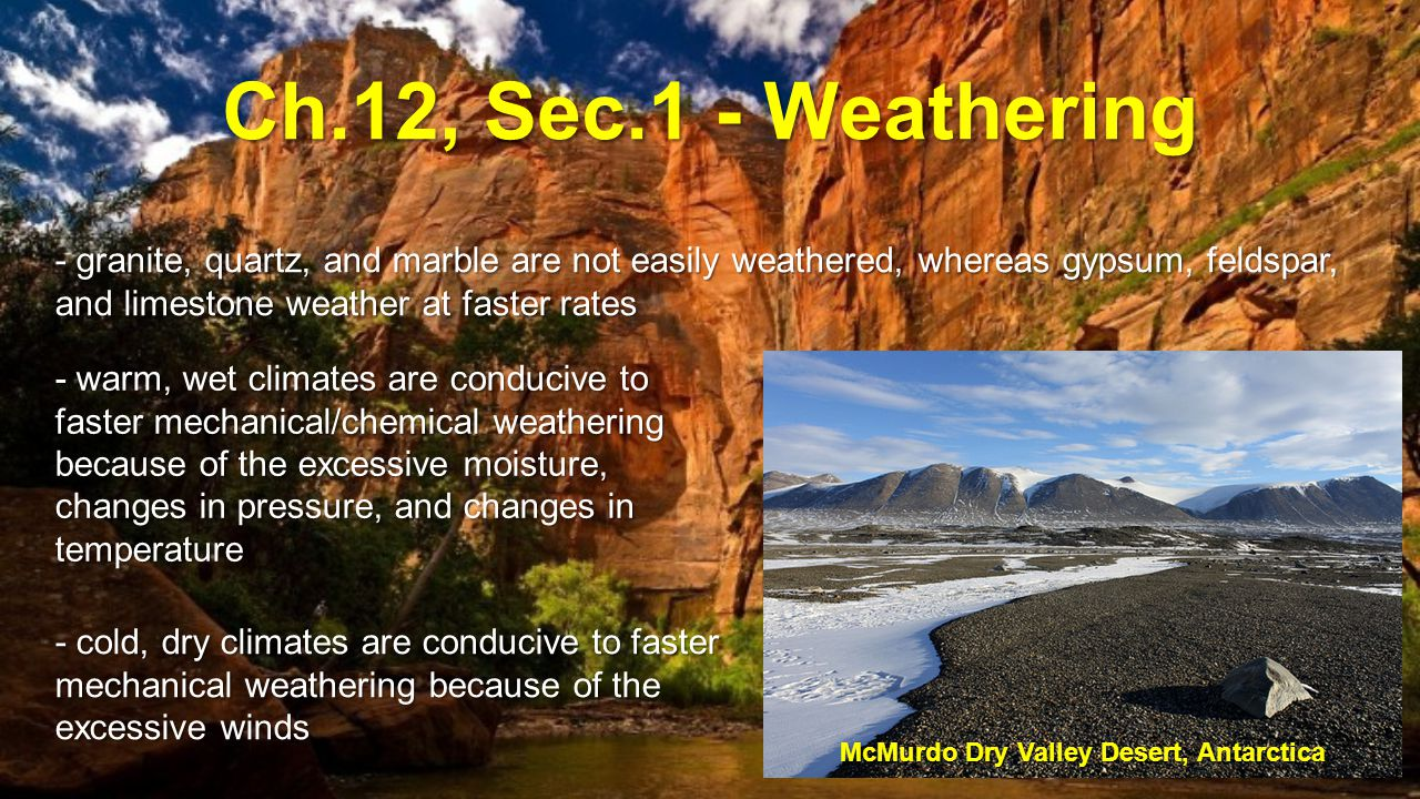 McMurdo Dry Valley Desert, Antarctica
