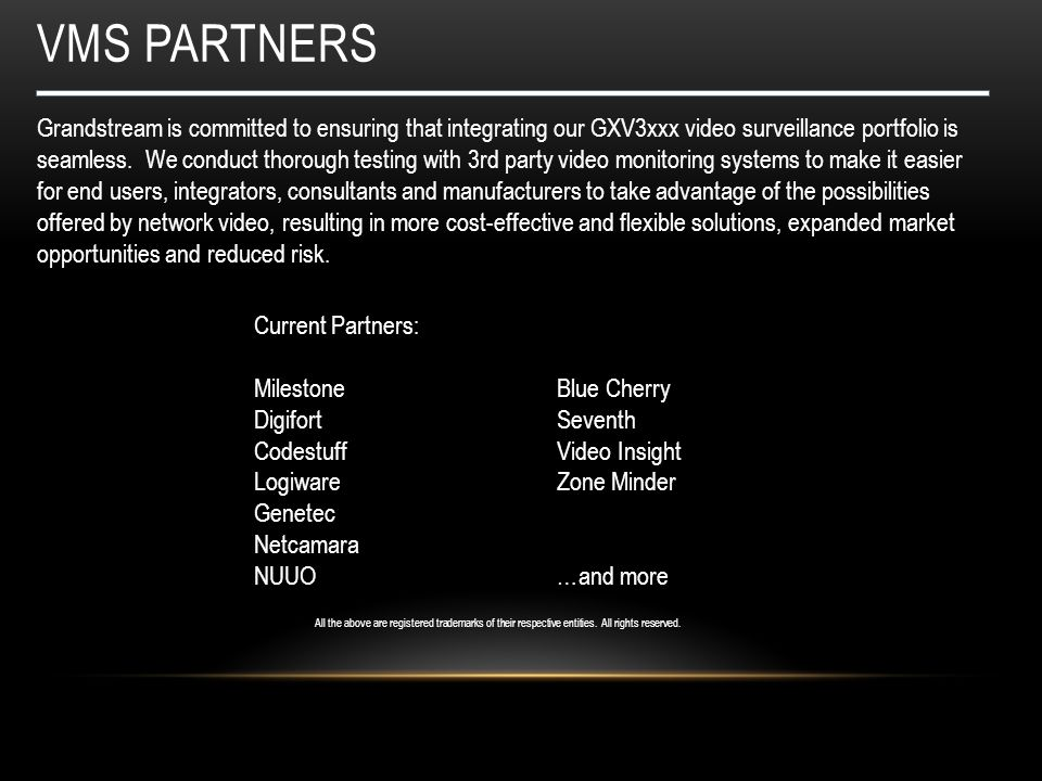 Vms partners
