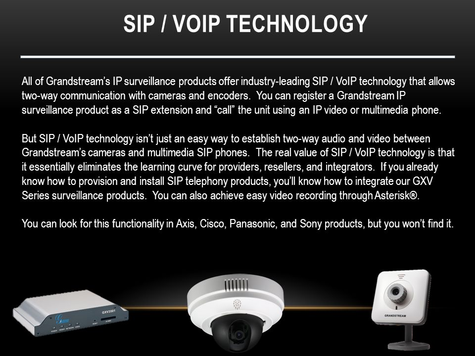 Sip / voip technology