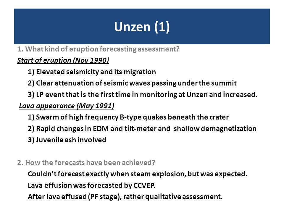 Unzen (1)