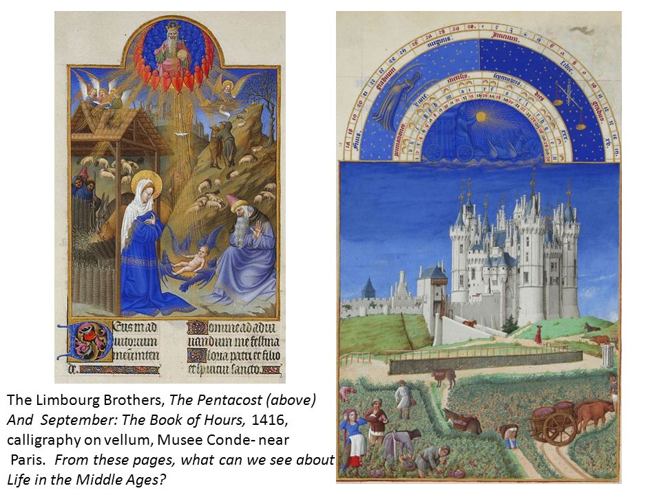 The Limbourg Brothers, The Pentacost (above)