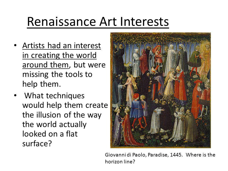 Renaissance Art Interests