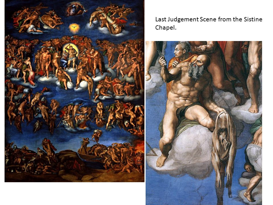 Last Judgement Scene from the Sistine