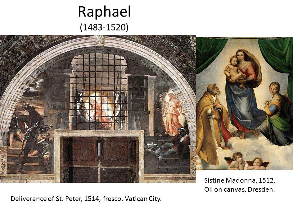 Raphael (1483-1520) Sistine Madonna, 1512, Oil on canvas, Dresden.