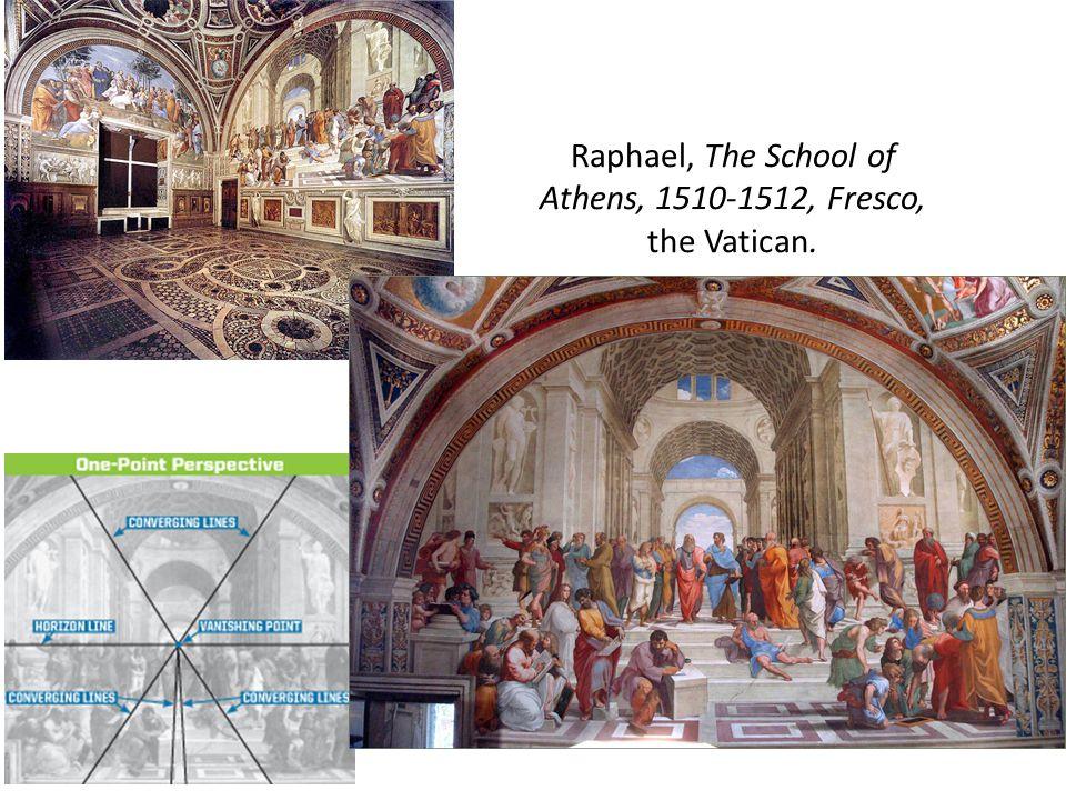 Raphael, The School of Athens, 1510-1512, Fresco, the Vatican.