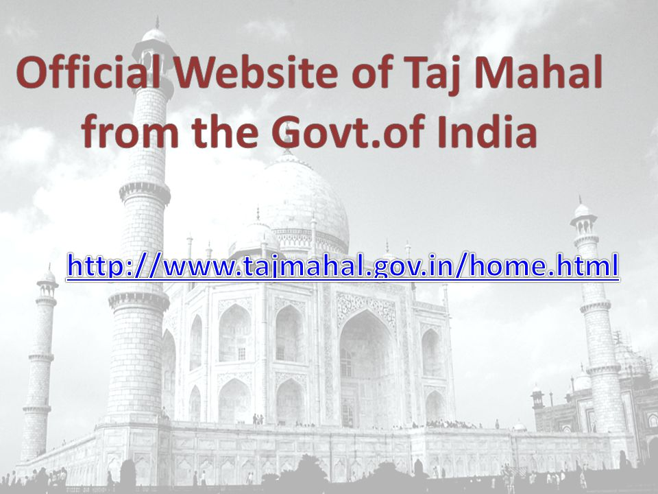 Official Website of Taj Mahal