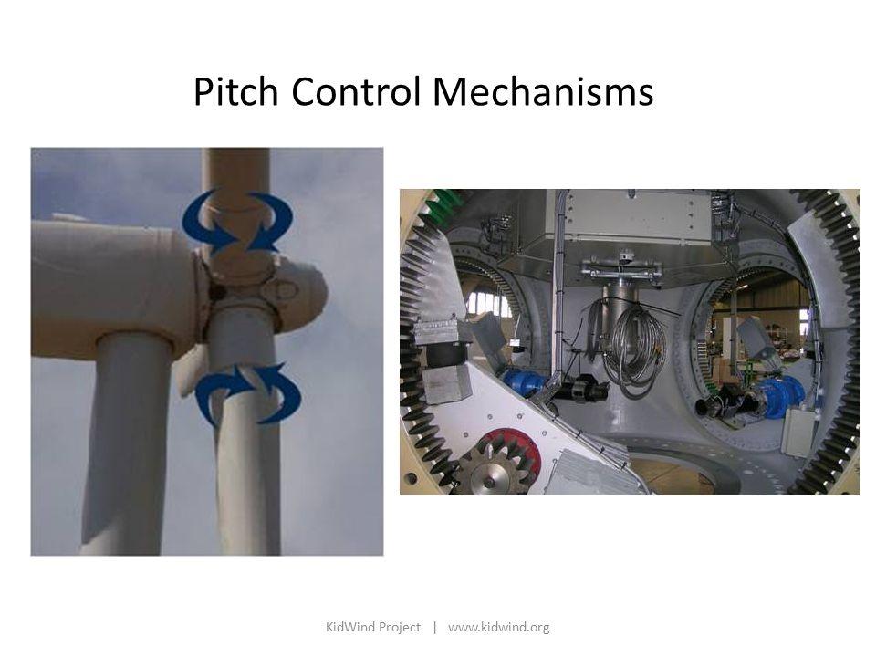 Pitch Control Mechanisms