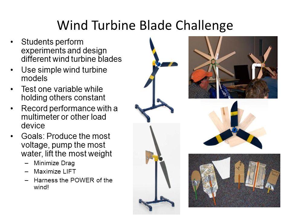 Wind Turbine Blade Challenge
