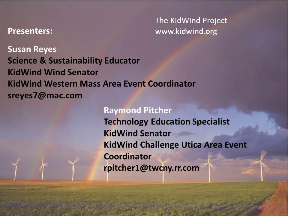 Science & Sustainability Educator KidWind Wind Senator