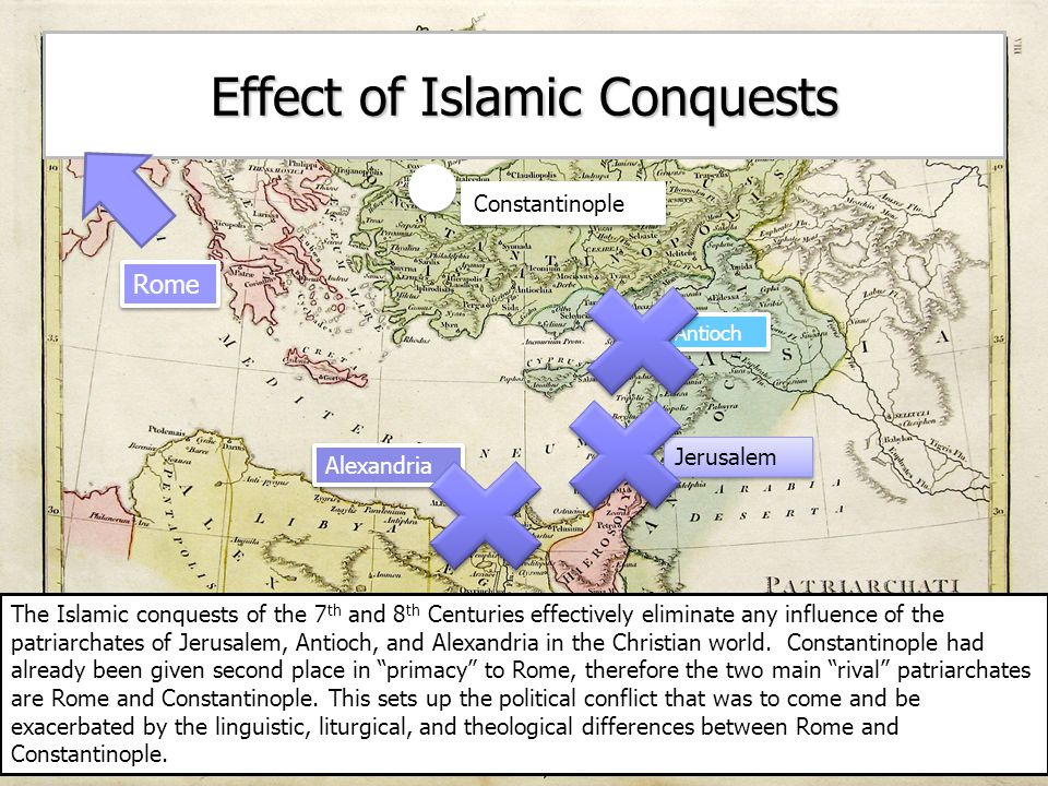 Effect of Islamic Conquests