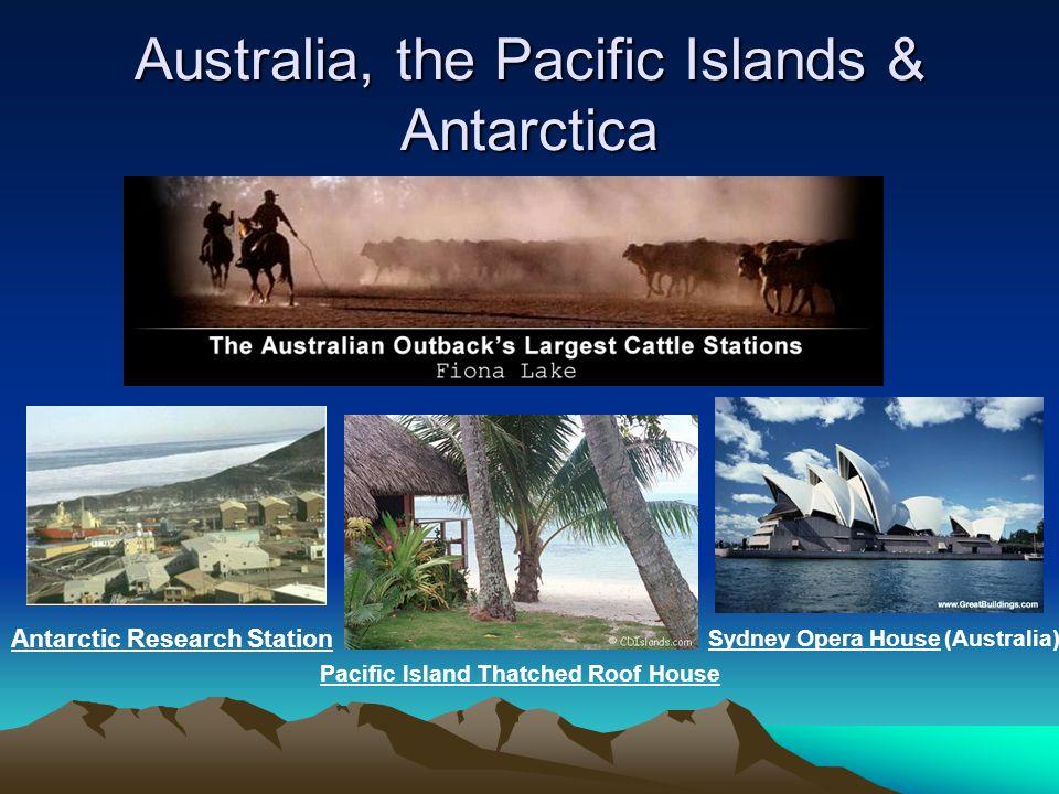 Australia, the Pacific Islands & Antarctica