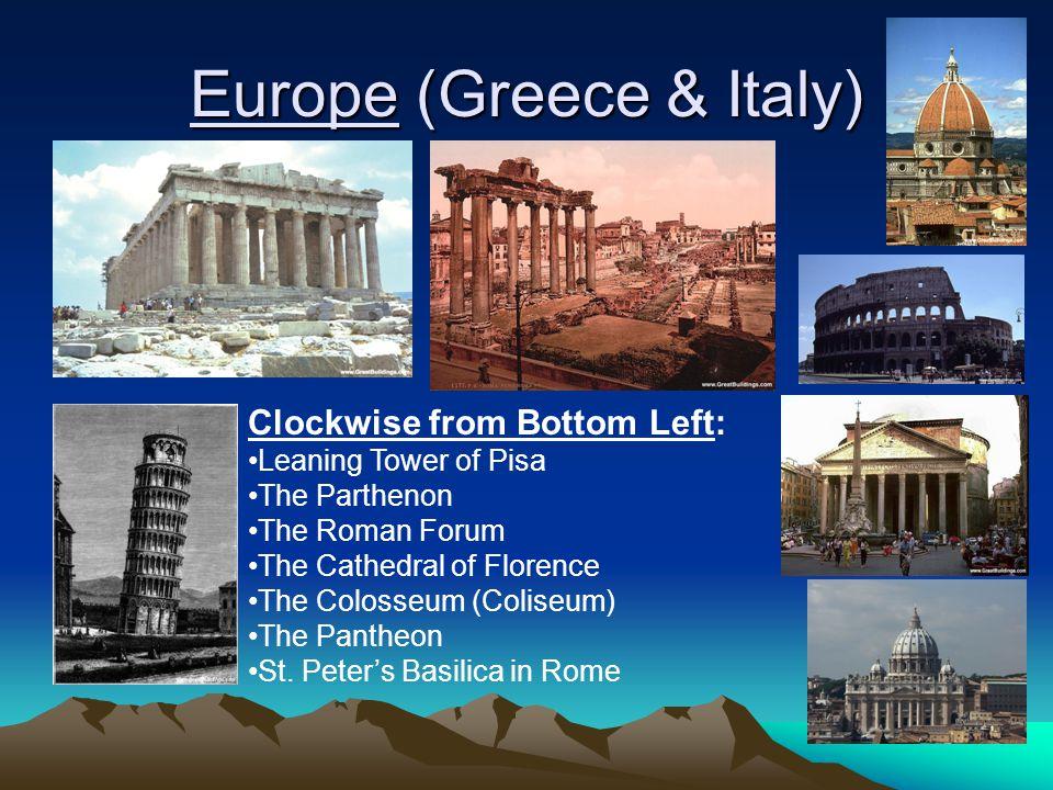 Europe (Greece & Italy)