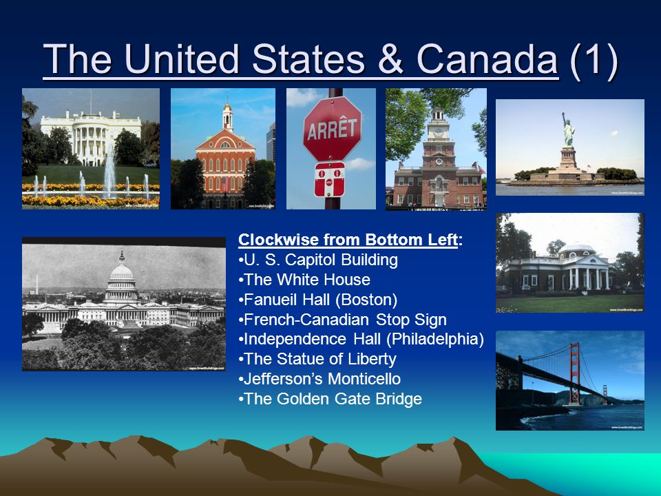 The United States & Canada (1)