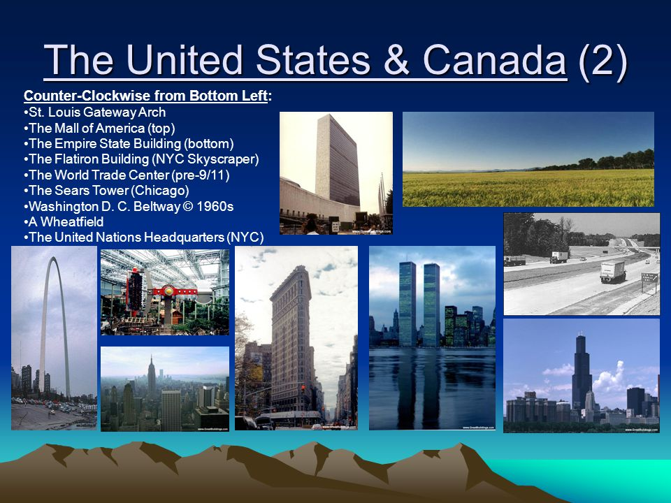 The United States & Canada (2)