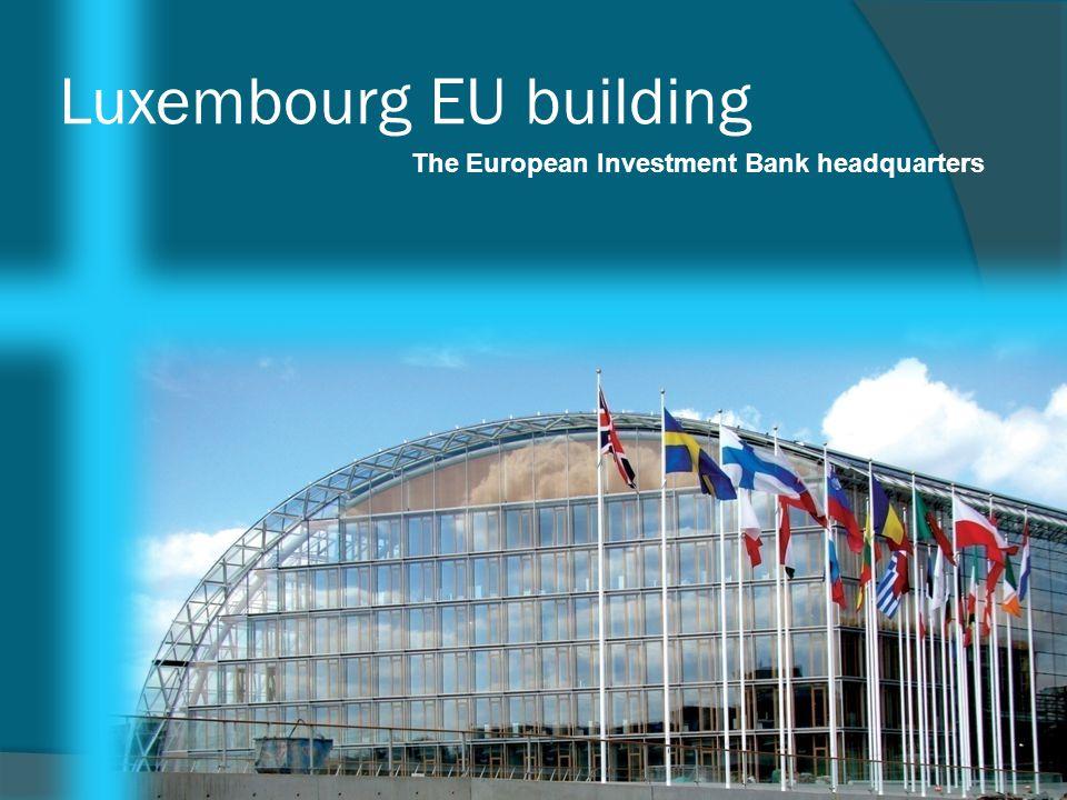 Luxembourg EU building
