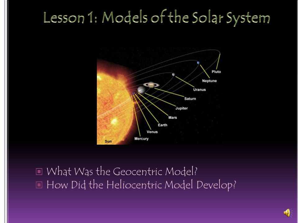 solar system lesson model of-#main