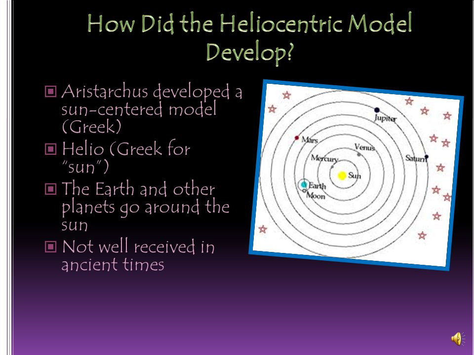 How Did the Heliocentric Model Develop