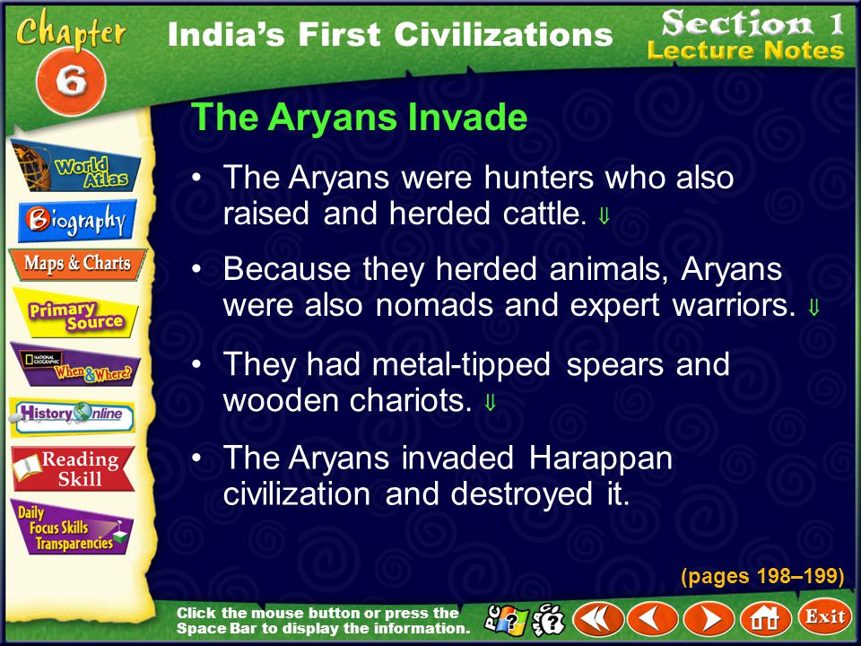 The Aryans Invade India's First Civilizations