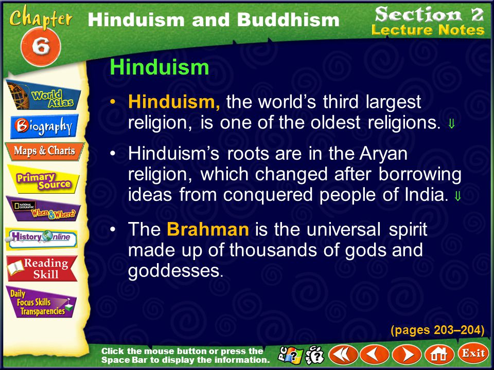 Hinduism Hinduism and Buddhism