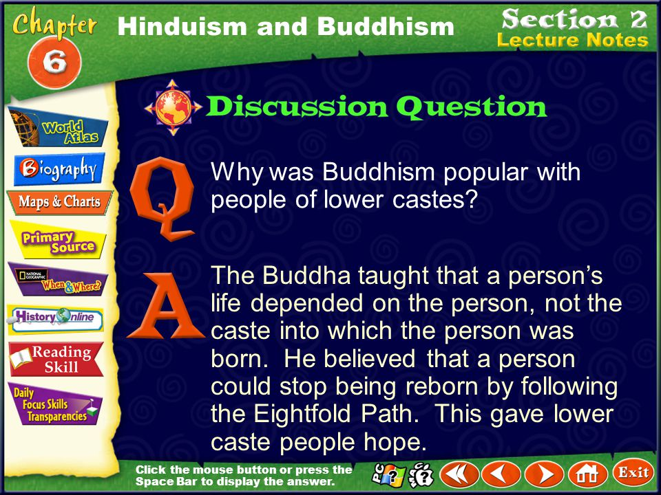 Hinduism and Buddhism Why was Buddhism popular with people of lower castes