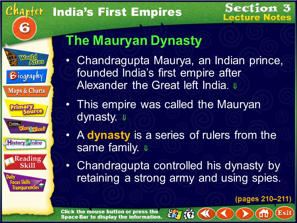 The Mauryan Dynasty India's First Empires