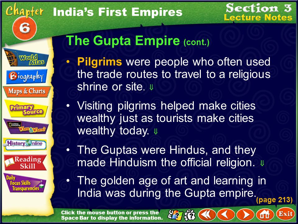 The Gupta Empire (cont.)