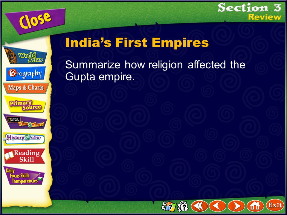 India's First Empires Summarize how religion affected the Gupta empire.
