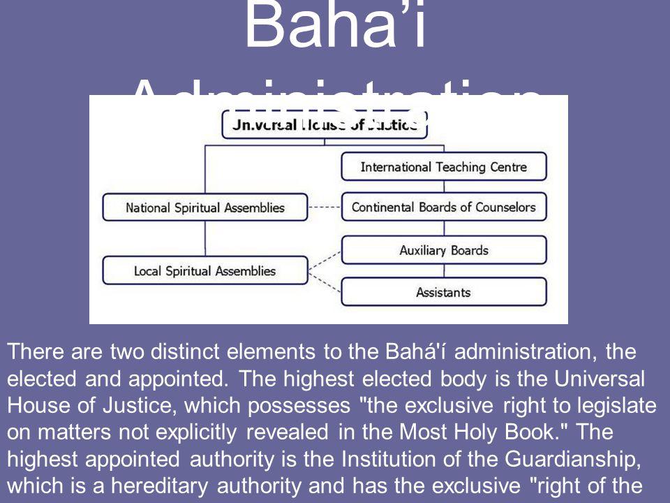 Baha'i Administration