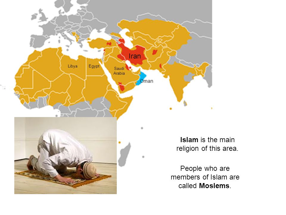 Islam is the main religion of this area.