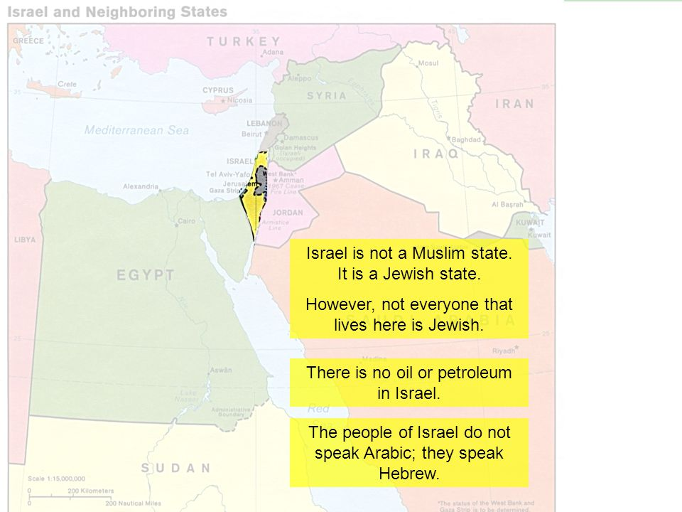 Israel is not a Muslim state. It is a Jewish state.