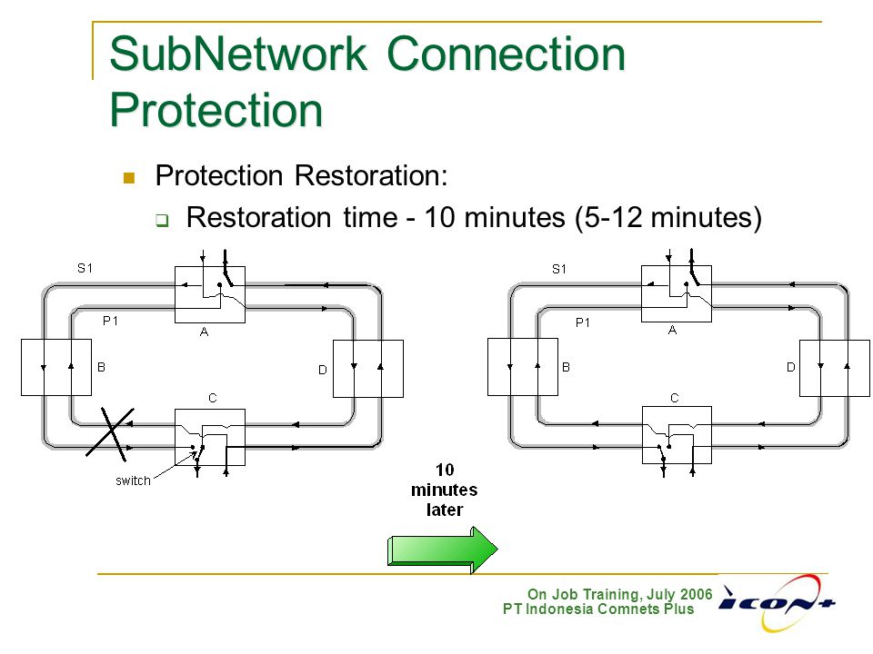 SubNetwork Connection Protection