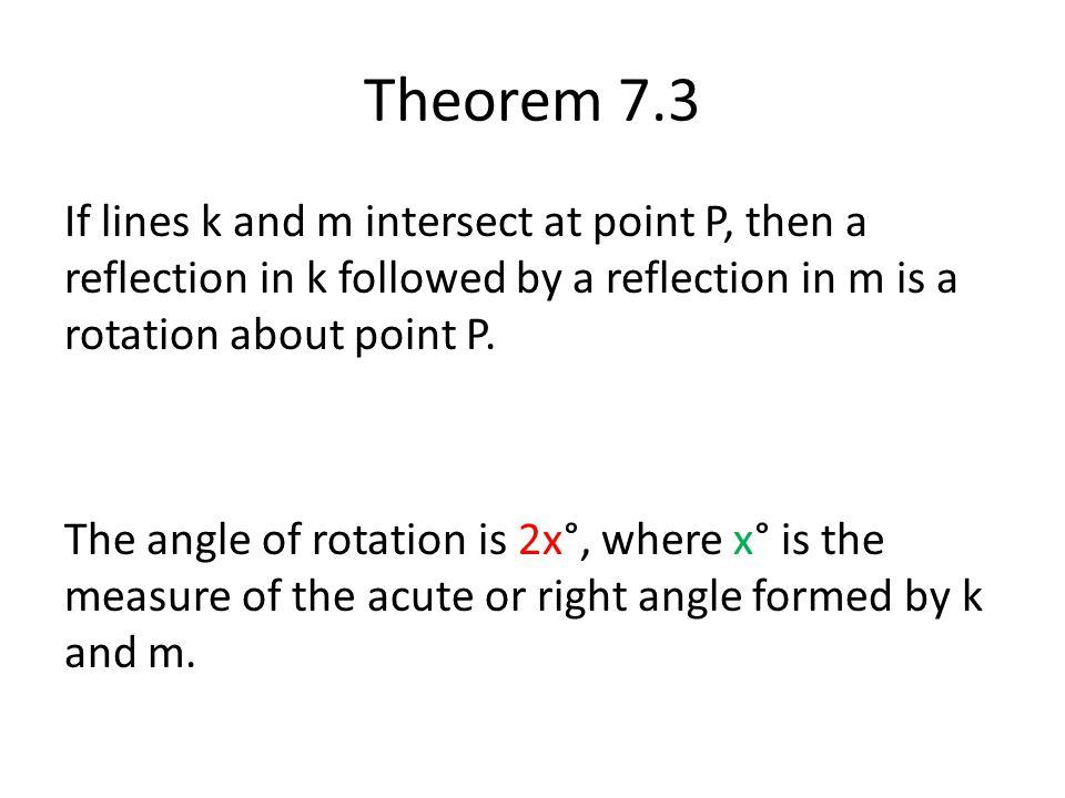 Theorem 7.3