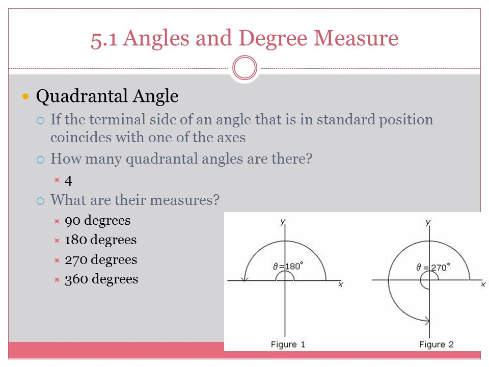 Measure Of An Angle : Trigonometric functions ppt download