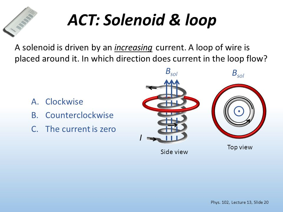 ACT: Solenoid & loop