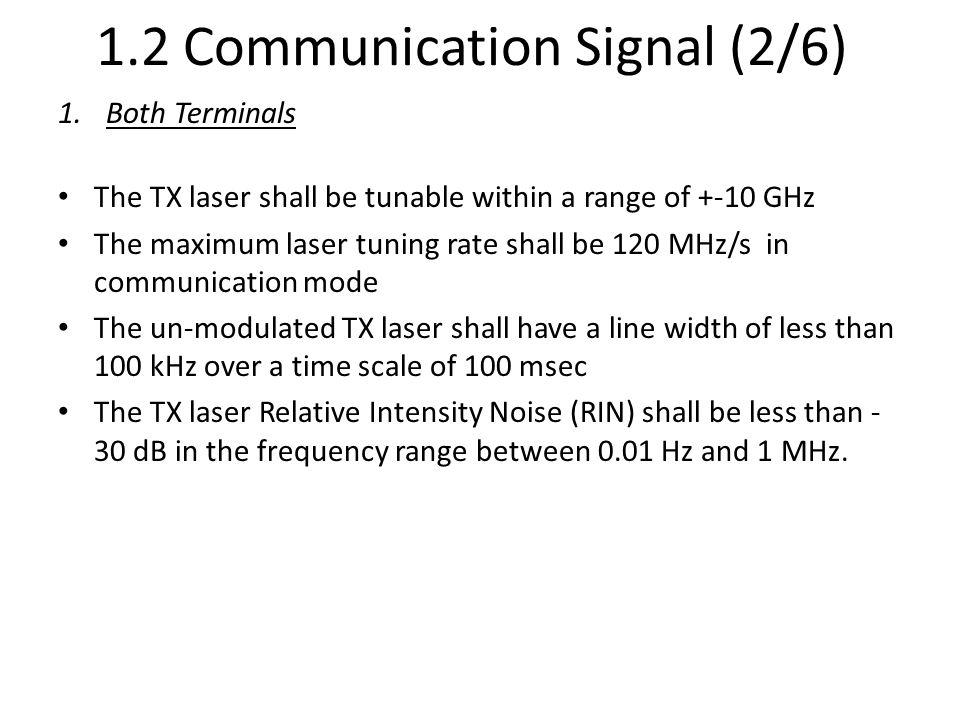 1.2 Communication Signal (2/6)