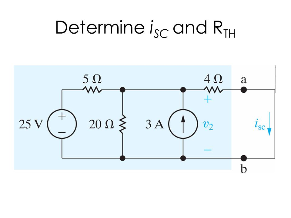 Determine iSC and RTH