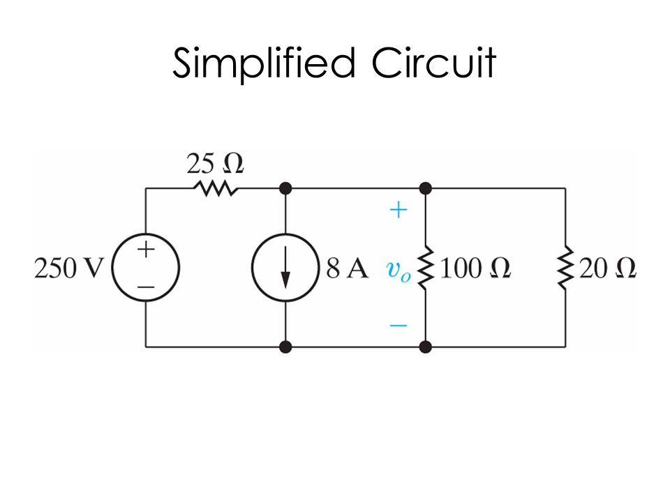 Simplified Circuit