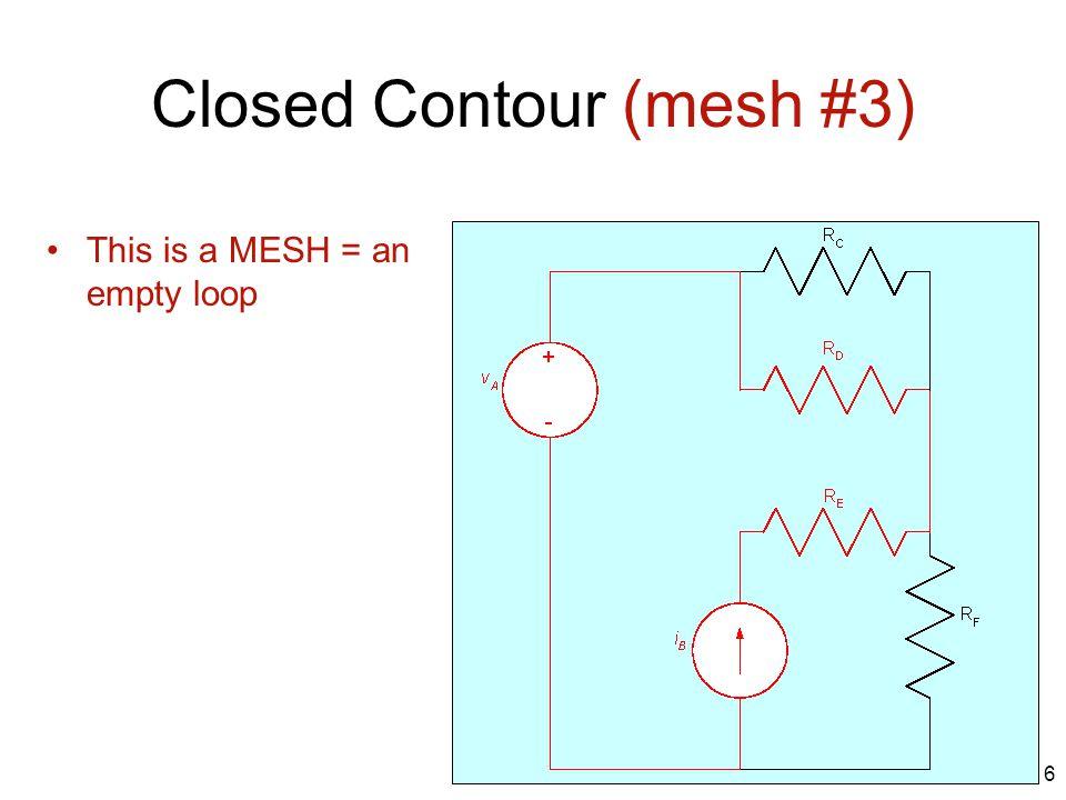 Closed Contour (mesh #3)