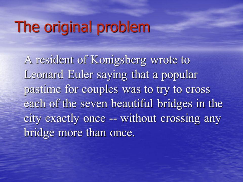 The original problem