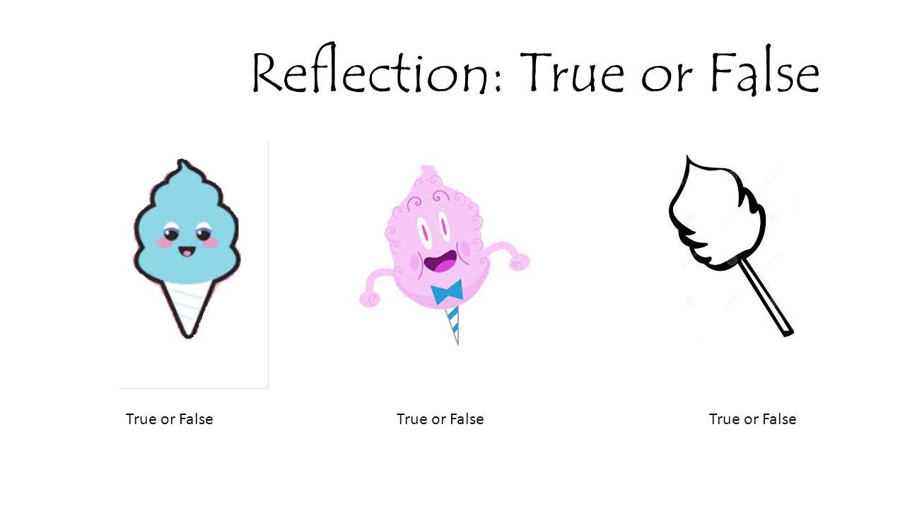 Reflection: True or False