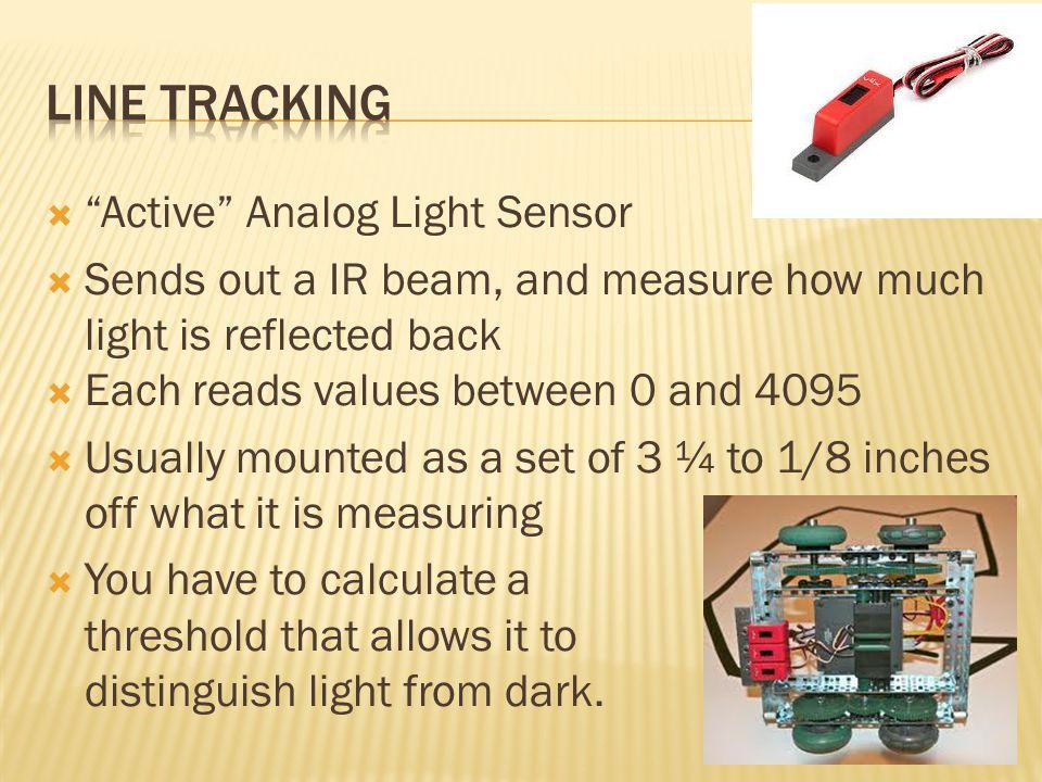 Line Tracking Active Analog Light Sensor