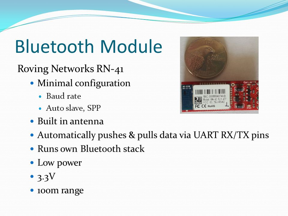 Bluetooth Module Roving Networks RN-41 Minimal configuration