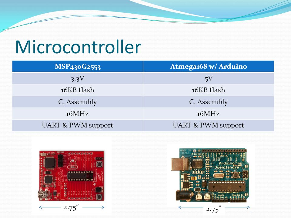 Microcontroller MSP430G2553 Atmega168 w/ Arduino 3.3V 5V 16KB flash